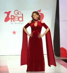 Kathy Ireland at American Heart Association's Go Red For Women Show