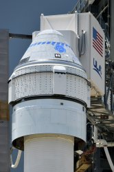 NASA Boeing Starliner Prepared For Launch From Cape Canaveral  Florida