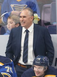 St. Louis Blues interim head coach Craig Berube