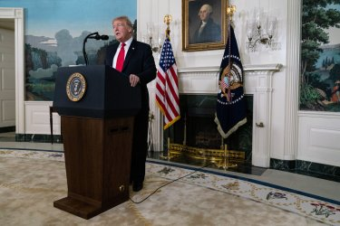 President Donald Trump Delivers Remarks on the Border and Shutdown