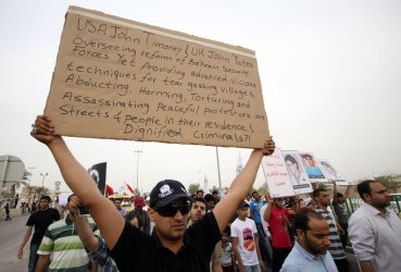 Bahraini Anti-government a Protesters Under Spotlight  of  Formula One