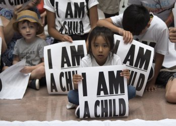 Child Separation Protest in Capitol Hill