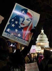 Congressional Democrats Vigil outside the Supreme Court