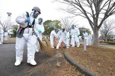 Japan's GSDF begins decontamination operation