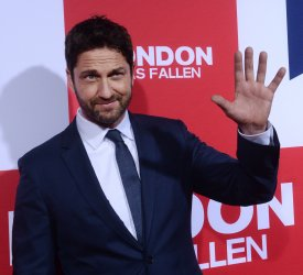 "Gerard Butler attends the ""London Has Fallen"" premiere in Los Angeles"