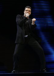 George Michael concert in New York