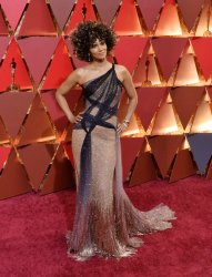 Halle Berry arrives for the 89th annual Academy Awards in Hollywood