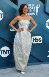 Nischelle Turner attends the 26th annual SAG Awards in Los Angeles