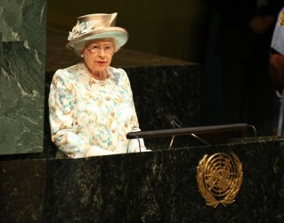 Queen Elizabeth II addresses the United Nations