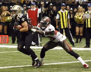 New Orleans Saints  vs  Tampa Bay Buccaneers  at  the Mercedes-Benz Superdome in New Orleans