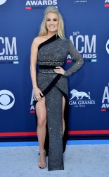 Carrie Underwood attends the Academy of Country Music Awards in Las Vegas
