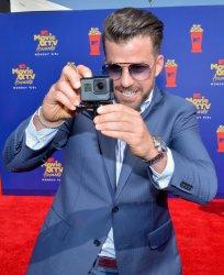 Jason Wahler attends the MTV Movie & TV Awards in Santa Monica, California