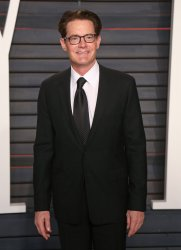 Kyle MacLachlan arrives at the Vanity Fair Oscar Party in Beverly Hills