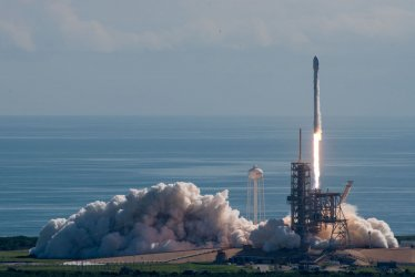 SpaceX Launch of OTV-5 Mission from Kennedy Space Center