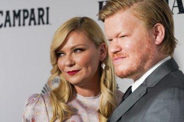 Kirsten Dunst and Jesse Plemons at World Premiere of The Irishman