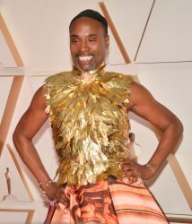Billy Porter arrives for the 92nd annual Academy Awards in Los Angeles