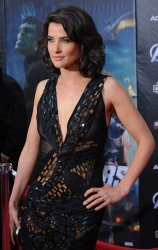 "Cobie Smulders attends ""The Avengers"" premiere in Los Angeles"