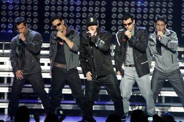 NKOTB perform in concert in Miami Beach