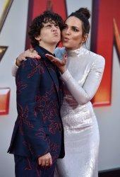 Jack Dylan Grazer and Marta Milans attend 'Shazam!' premiere