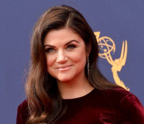 Tiffani Thiessen attends the Creative Arts Emmy Awards in Los Angeles