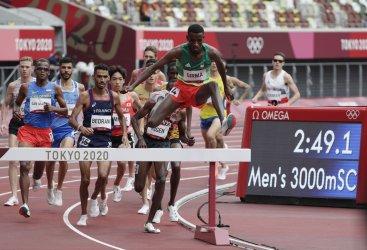 Athletics at the Tokyo Olympics