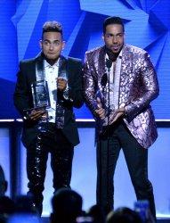 Romeo Santos and Ozuna wins award at the Billboard Latin Music Awards in Las Vegas