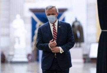 The House votes to Impeach President Trump in Washington, DC
