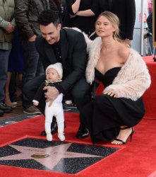 Adam Levine honored with star on Hollywood Walk of Fame in Los Angeles
