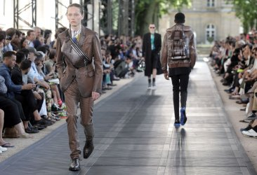 Berluti Fashion in Paris