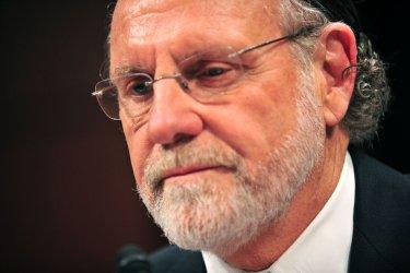 Former CEO of MF Global Jon Corzine testifies on MF Global in Washington