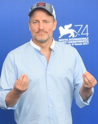 Woody Harrelson attends a photo call for Three Billboards Outside Ebbing, Missouri at the 74th Venice Film Festival.