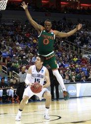 Villanova vs Miami in the NCAA Division I basketball Championship