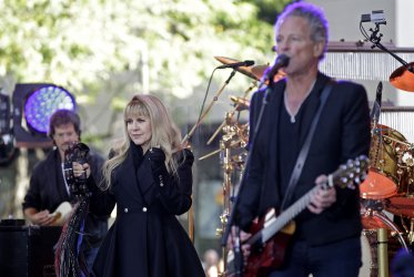 Fleetwood Mac performs on the NBC Today Show