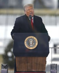 President Trump delivers remarks to supporters in DC to support Trump's claims of voter fraud
