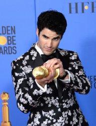 Darren Criss wins award at Golden Globes