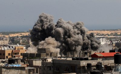 Israel Stepped up its Offensive on  Gaza.