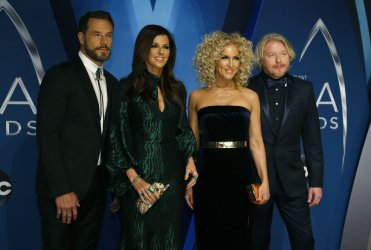 Little Big Town arrives for the 2017 CMA Awards in Nashville