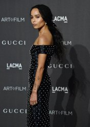 Zoe Kravitz attends the eighth annual LACMA Art+Film gala in Los Angeles