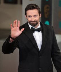Hugh Jackman arrives at the Baftas Awards Ceremony