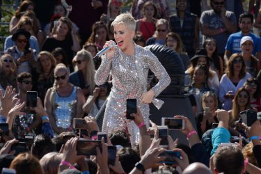 Katy Perry performs Witness World Wide YouTube concert in Los Angeles