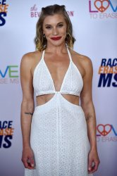 Katee Sackhoff attends Race to Erase MS gala in Beverly Hills