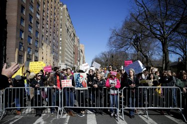 Not My President's Day rally in New York