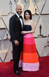 Keegan-Michael Key and Elisa Pugliese arrive for the 91st Academy Awards