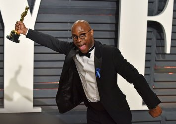 Barry Jenkins arrives for the Vanity Fair Oscar Party in Beverly Hills