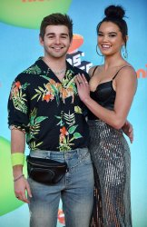 Jack Griffo attends Kids' Choice Awards 2019