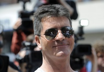 """Judge Simon Cowell arrives for the first round of auditions for """"The X Factor"""" in Los Angeles"""