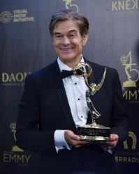Mehmet Oz attends the 45th Annual Daytime Emmy Awards