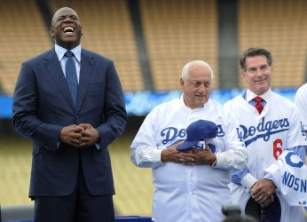 New Owners of the Dodgers Press Conference in Los Angeles