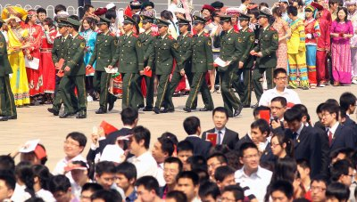 Celebration of 90th anniversary of the Communist Youth League of China in Beijing