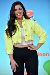 Miranda May attends Kids' Choice Awards 2019